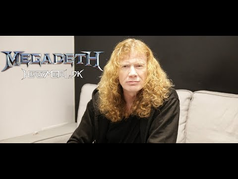 Megadeth interview with Dave Mustaine 2018