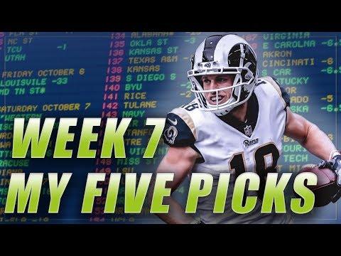 WEEK 7 NFL PICKS: BEST BETS + SURVIVOR POOL PICK | NFL PREDICTIONS