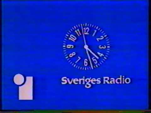 Klassisk TV1-klocka 1978