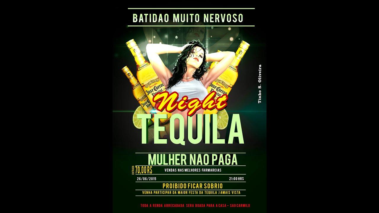 Preferência Flyer de Festas Night Tquila speed arts adobe photoshop - YouTube VW32