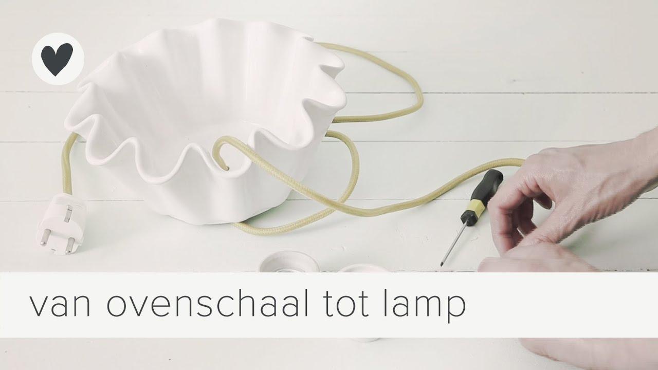 Magnifiek maak je eigen lampenkap | vtwonen | diy - YouTube @CA31