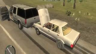 Глуповатые водители в Gta IV Criminal Russia