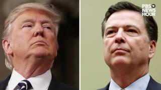 What James Comey told his friend about President Trump