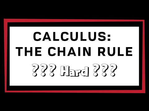 Calculus AB - The Chain Rule (Hard)
