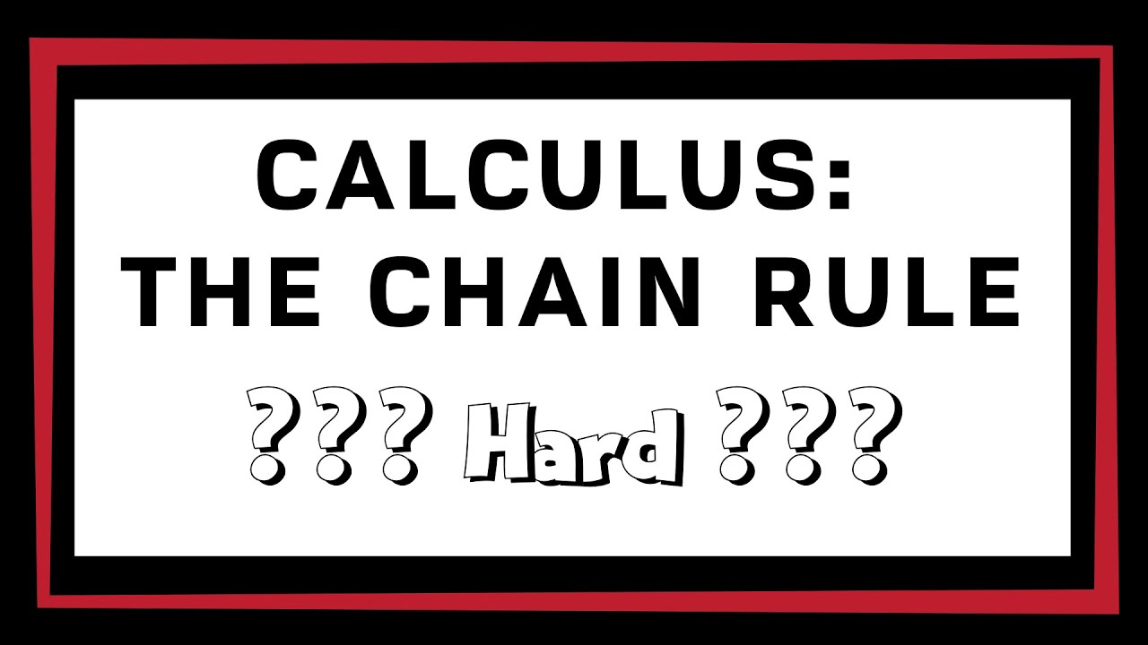 Calculus AB  The Chain Rule Hard  YouTube