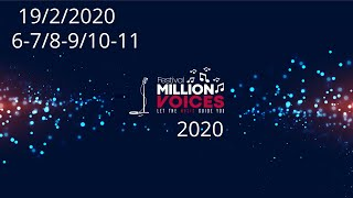 19/2/2020-Age category 6-7/8-9/10-11 Music competition festival Million Voices - 5