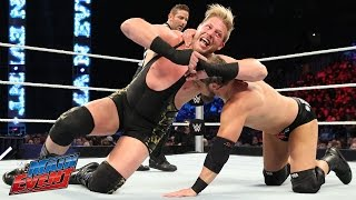 Curtis Axel vs. Jack Swagger: WWE Main Event, March 21, 2015