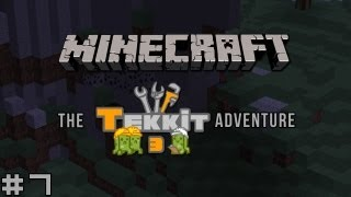 Minecraft - The Tekkit Adventure #7 - Power Flower Shower Hour