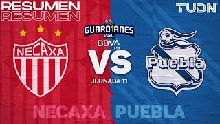 Resumen y goles   Necaxa vs Puebla   Guard1anes 2020 Liga BBVA MX - J11   TUDN