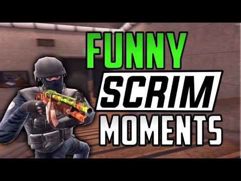Critical Ops - FUNNY SCRIM MOMENTS WITH FRIENDS (FUNNY MOMENTS WITH VC AND MORE)