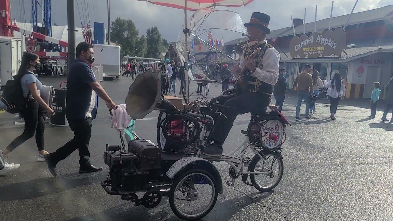 One man band  Washington State fair