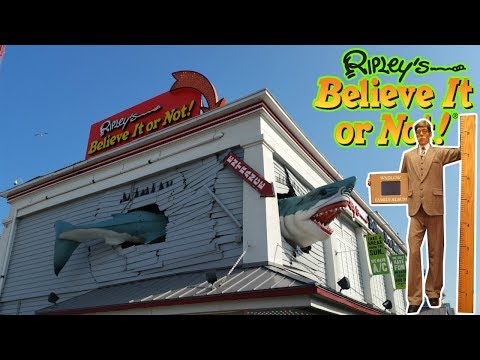 Ripley's Believe It Or Not 2017 - Ocean City Maryland