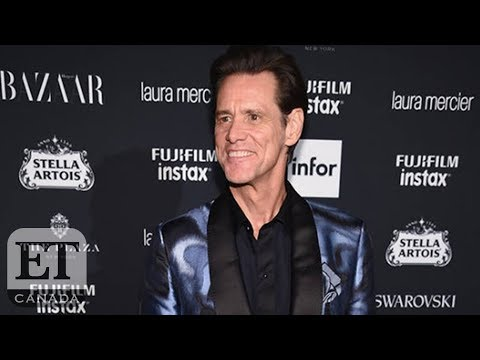 Jim Carrey Addresses His Existential  At NYFW