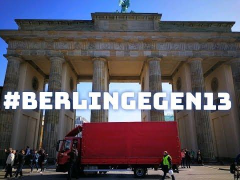 Artikel 13 Demo in Berlin - LIVE