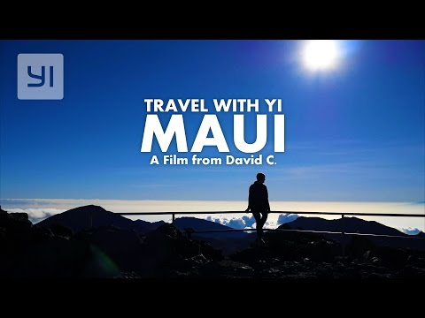 Travel with YI 4K MAUI  Hawaiian #YICamera YI 4K