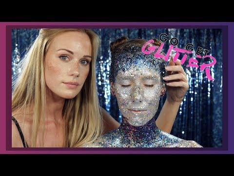 ASMR Go Get Glitter make up tutorial (bedazzled Amanda 💎 )