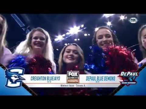 Creighton at DePaul Highlights: #BIGEASThoops