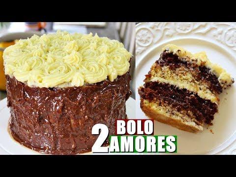 BOLO DE ANIVERSÁRIO DE 2 AMORES   Menino Prendado