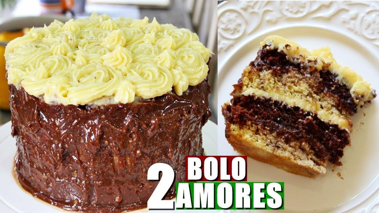 Top BOLO DE ANIVERSÁRIO DE 2 AMORES - YouTube XY59
