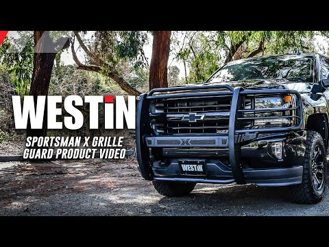 Westin Sportsman X Grille Guard Product Features