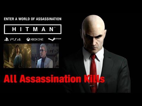 HITMAN (2016) The ShowStopper (Paris) All Assassination Kills