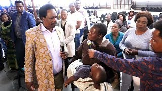 Gambar cover CHARIS ANOINTING WATER saves a DYING CHILD IN CHURCH l Apostle JB Makananisa