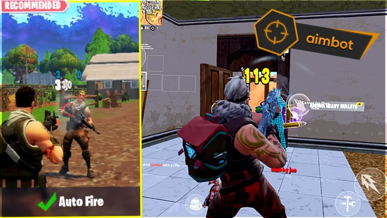 fortnite mobile turned on autofire then this happened - fortnite mobile auto fire turn on