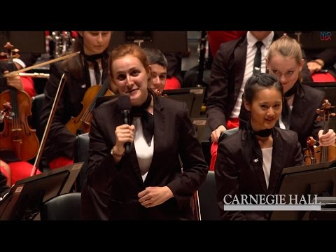 Leah Meyer duces NYOUSA 2014 at Carnegie Hall