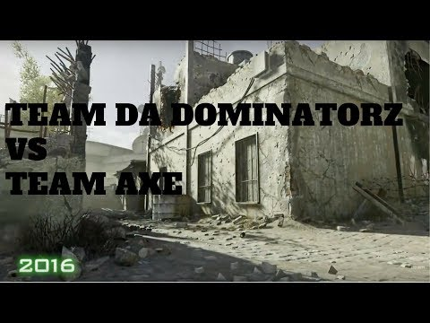 Team Da Dominatorz vs Team Axe - Genetic Gaming Ramadan Tournament.