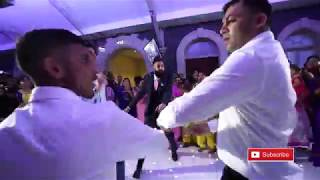 Dance Off || Sanga & Simz's Wedding || Mandy Dhillon || Vid-Ego