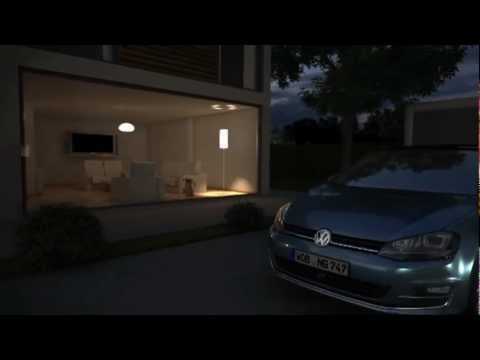 vw golf 7 animation ambientebeleuchtung 2013 youtube. Black Bedroom Furniture Sets. Home Design Ideas