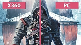 Assassin's Creed Rogue - Grafikvergleich: PC Maximal-Setting vs. Xbox 360