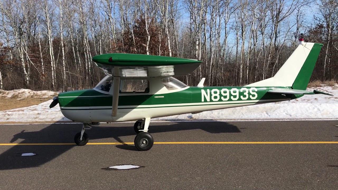 Cessna 150 for sale 93S Vid 1
