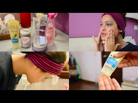 At Home Facial Routine