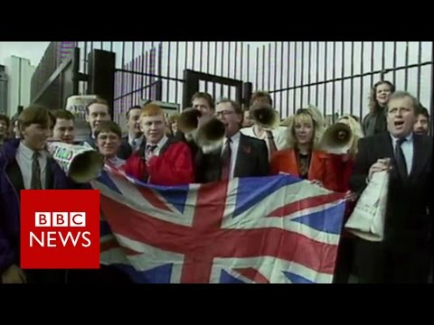 Rewind: UK relationship with EU  - BBC News