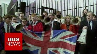 Rewind  UK relationship with EU    BBC News