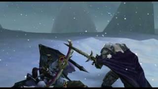 Warcraft III Frozen Throne - Arthas vs Illidan