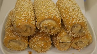 Vegetable Rolls can be done in the oven without deep frying