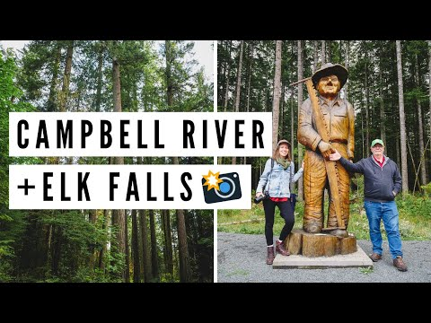 Visiting CAMPBELL RIVER, BC + Hiking in ELK FALLS | Vancouver Island, British Columbia