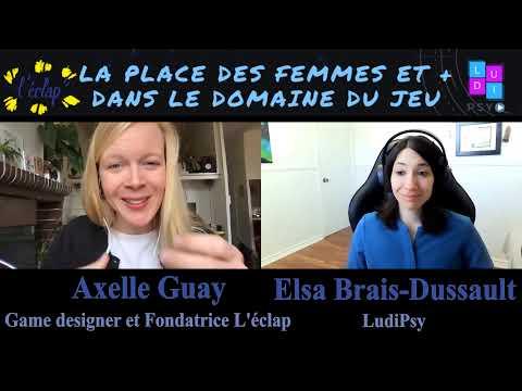 La Place des Femmes et + dans le Domaine du Jeu: Axelle Gay