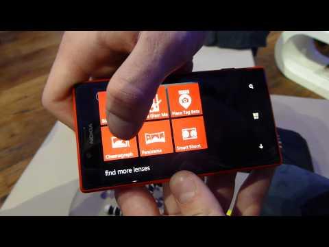 Nokia Lumia 720 im HandsOn auf dem MWC2013 - deutsch/german