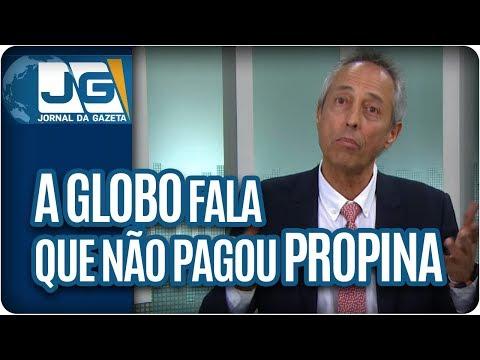 Bob Fernandes/A Globo informa que não pagou propina. O FBI segue investigando