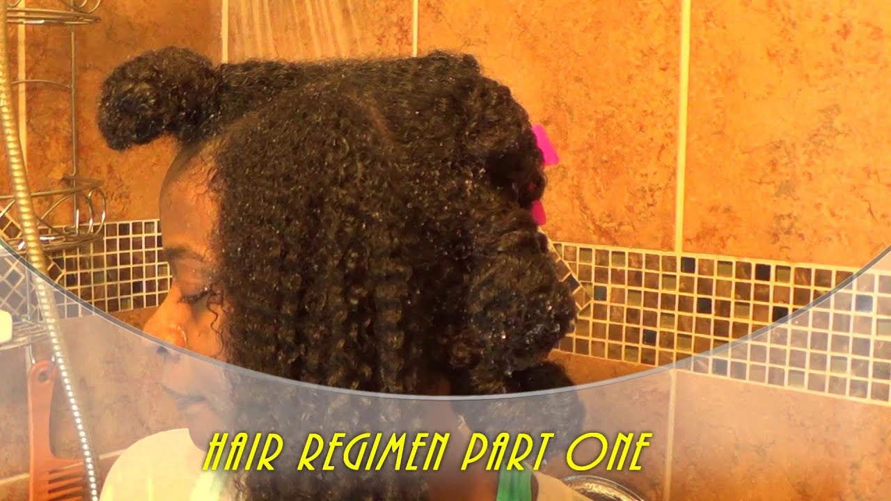 My Natural Hair Regimen/Routine: Part 1 For Curly Hair ...