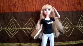 Обзор на шарнирную куклу Abbie.