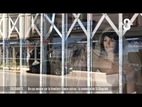 Un cas unique sur la frontière franco-suisse : la commune de St-Gingolph