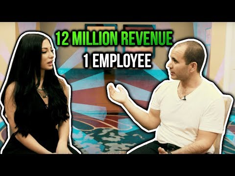 12 Million In Revenue 💵 With Only 1 Full-Time Employee 👨💻