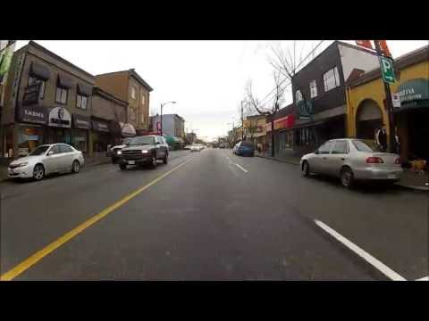 Tour of Commercial Drive and Area, East Vancouver, B.C., Canada