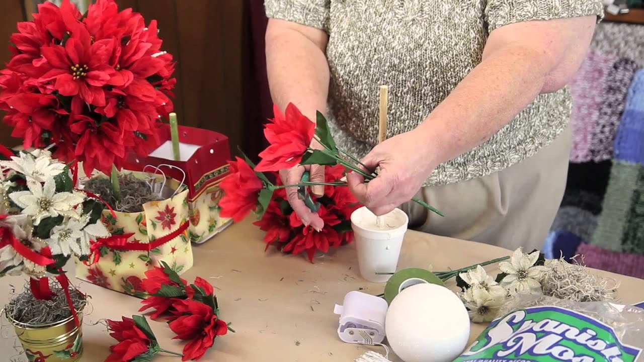 christmas topiary craft instructions holiday crafts decorations youtube - Christmas Topiary