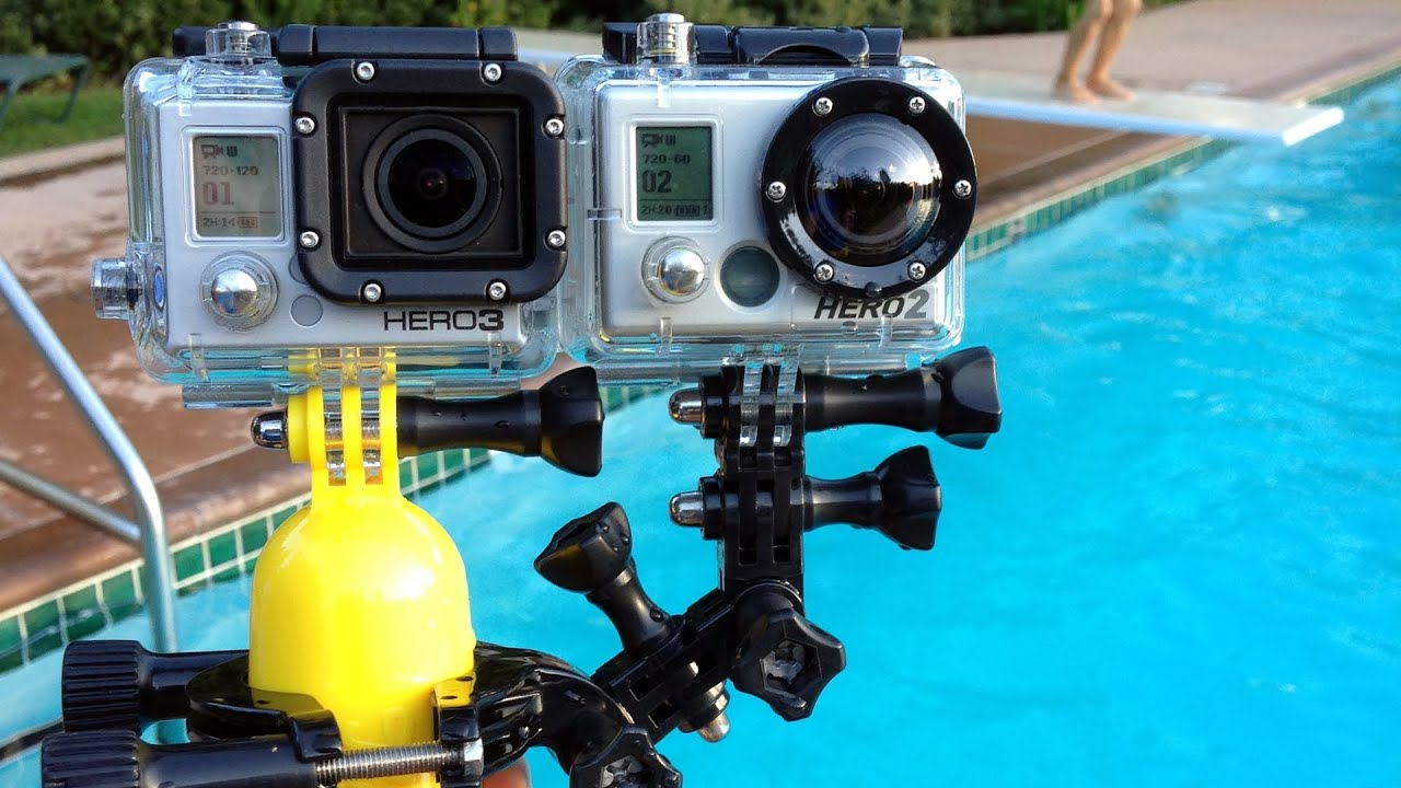 gopro hero3 black edition vs hero2 underwater comparison. Black Bedroom Furniture Sets. Home Design Ideas