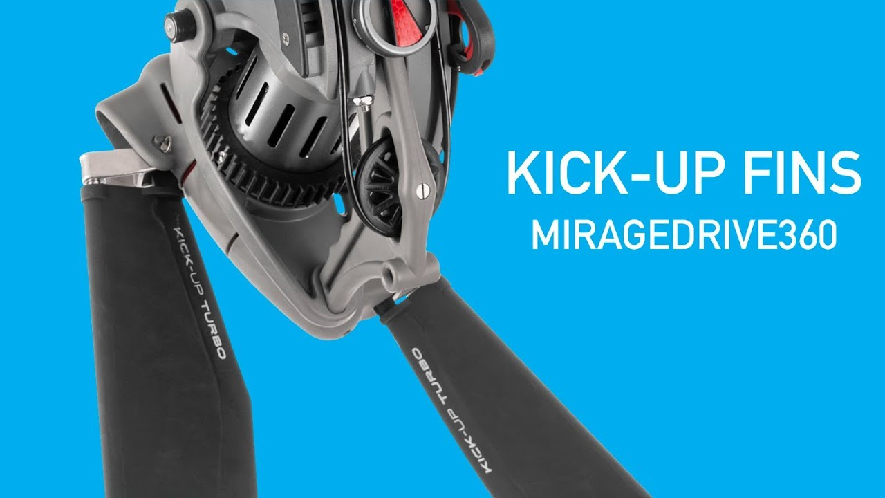 All New Hobie MirageDrive 360 Kick-Up Turbo Fins